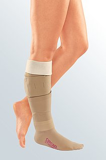 wound treatment compression inelastic leg
