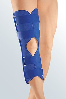 splint immobilization knee cap
