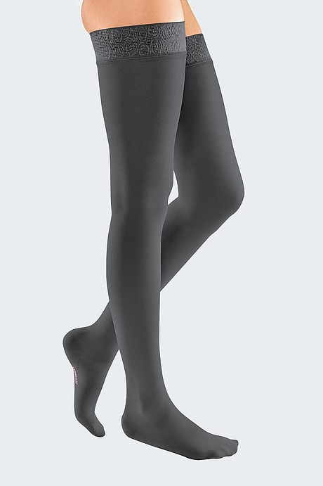 mediven elegance compression stockings anthracite