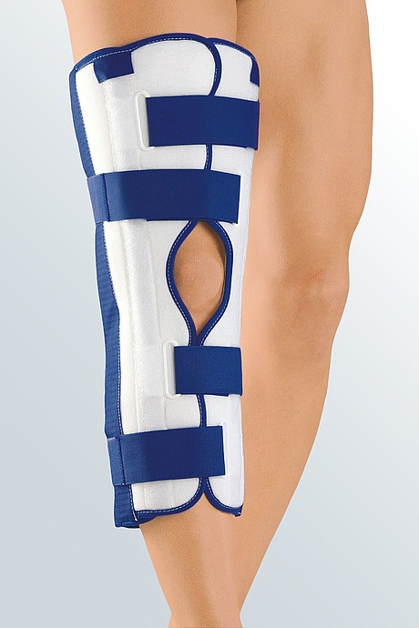 splint immobilization knee cap