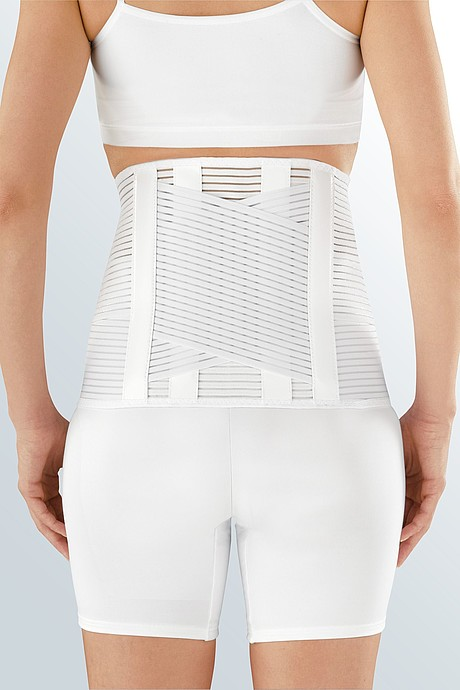 Lumbamed® active lumbar spine orthoses for stabilisation, white