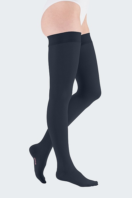 mediven comfort compression stockings veanous treatment navy
