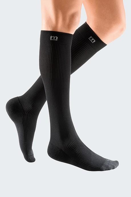 sporty compression stocking for men black